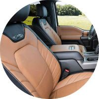 2016 Ford F-150 Limited stylish interior
