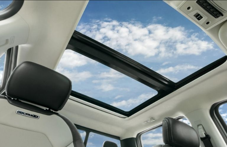 available twin panel moonroof in the 2021 Ford F-250 Super Duty