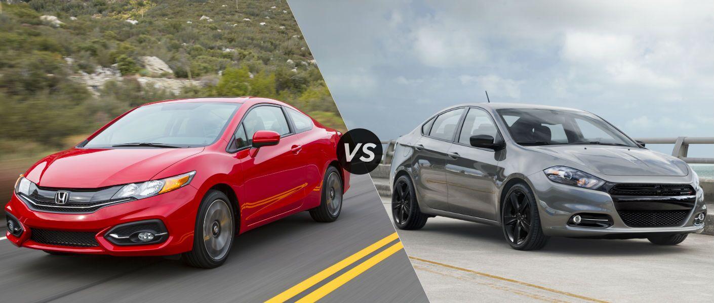 2015 Honda Civic vs 2015 Dodge Dart