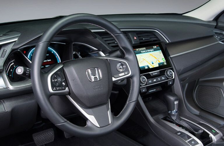 2016 Honda Civic vs 2016 Chevy Cruze standard features