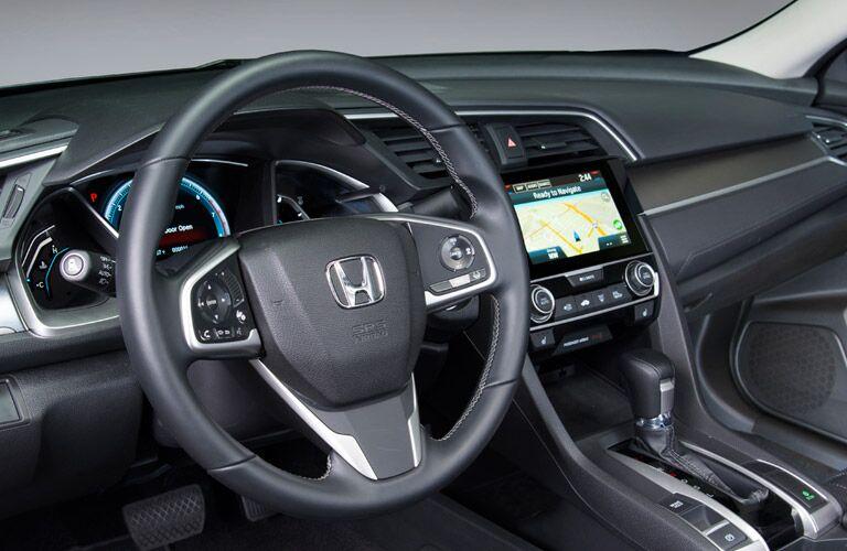 2016 Honda Civic vs 2016 Chevy Cruze standard features