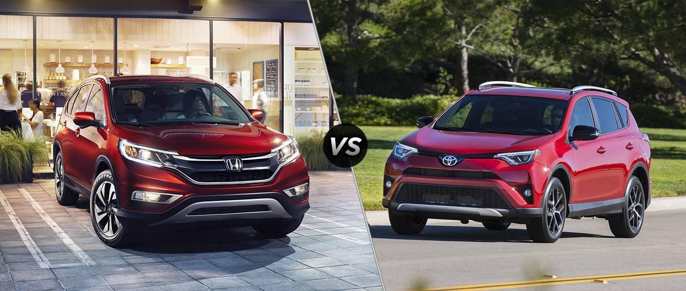 2016 Honda CR-V vs 2016 Toyota RAV4