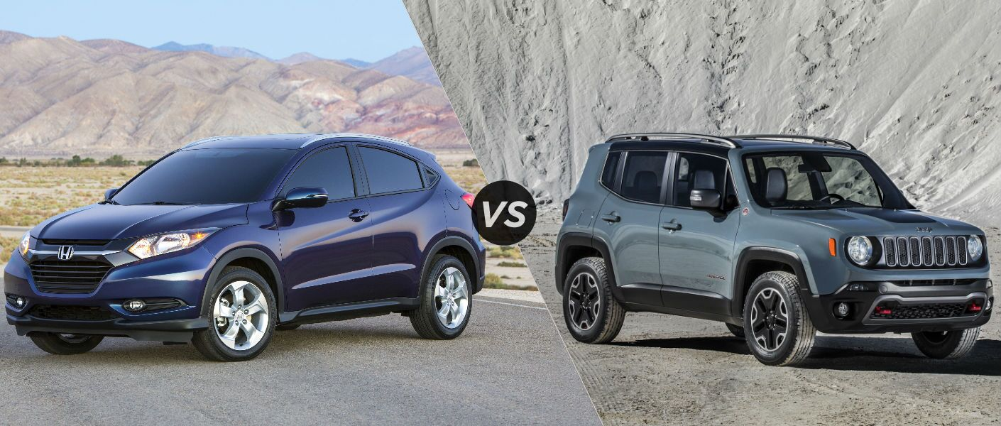 2016 Honda HR-V vs 2015 Jeep Renegade