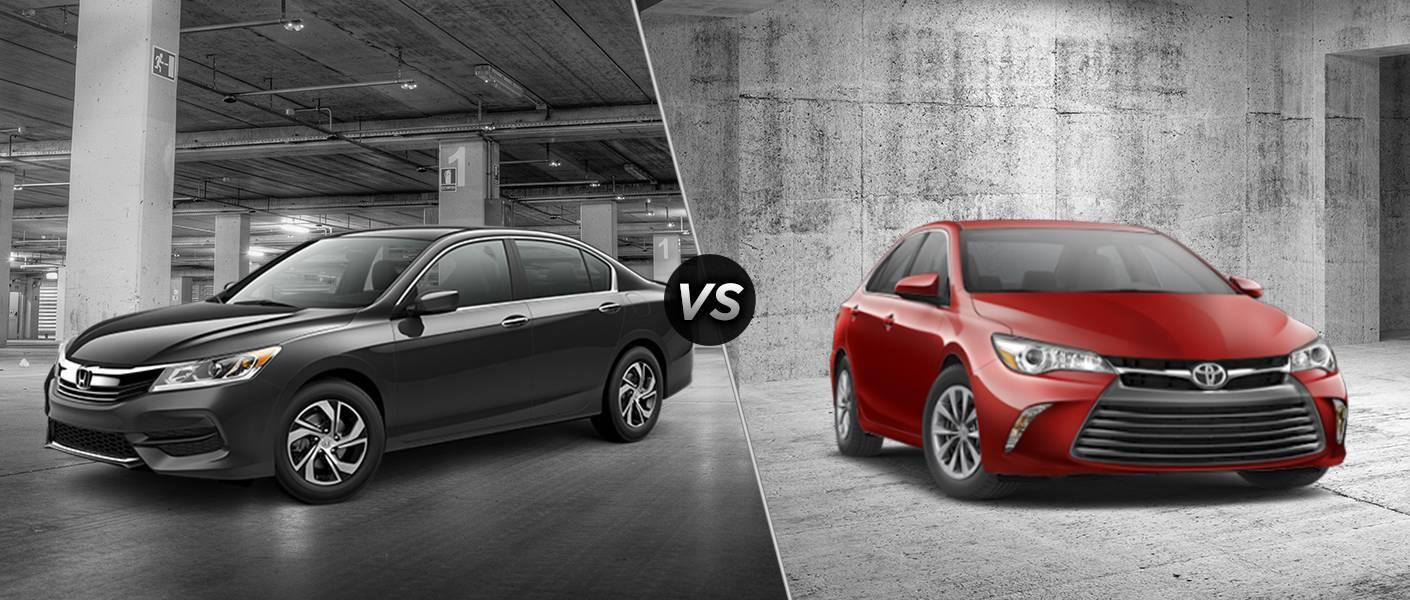2016 honda Accord LX (CVT) vs 2016 Toyota Camry