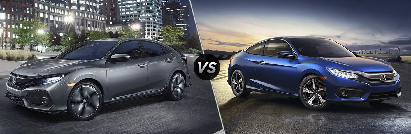 2017 Honda Civic Hatchback vs 2017 Honda Civic Coupe