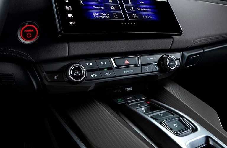 2018 Honda Clarity Plug-In Hybrid touchscreen