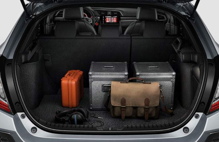 2018 Honda Civic Hatchback View of Rear Cargo Space