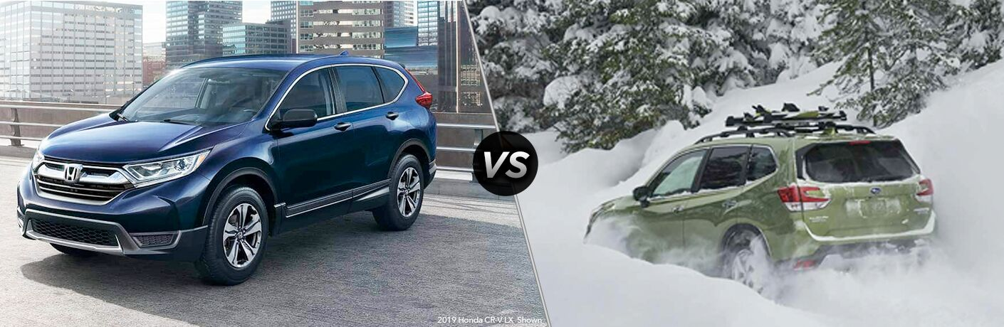 2019 Honda CR-V vs 2019 Subaru Forester