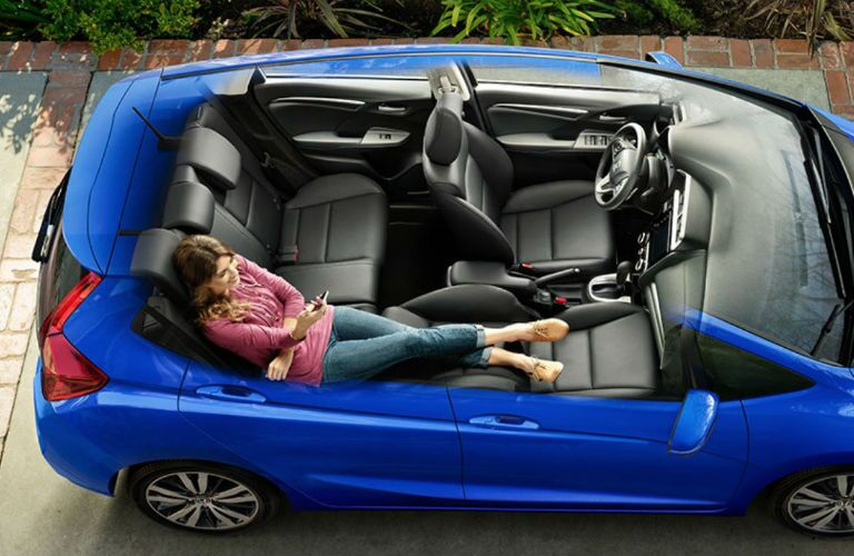 2019 Honda Fit with seats in Refresh mode