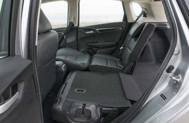 2019 Honda Fit flexible rear seating