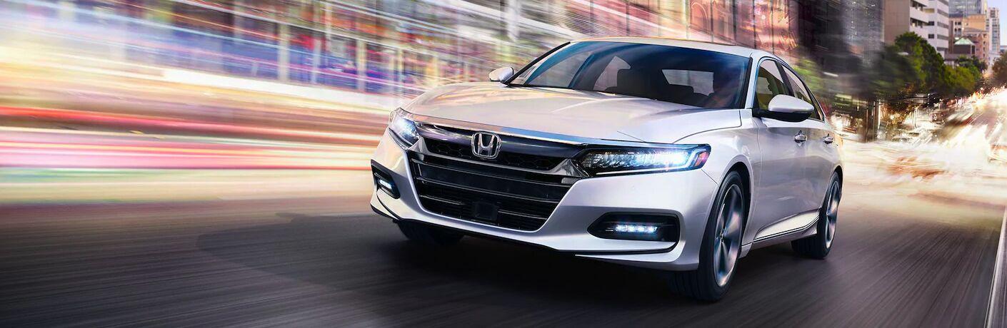 2020 Honda Accord driving down city street