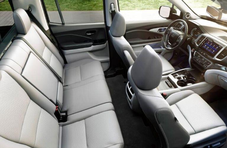 2020 Honda Ridgeline interior seats