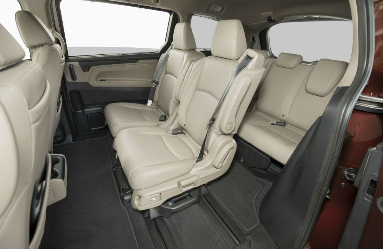 A photo of one of the interior configurations of the 2019 Odyssey.