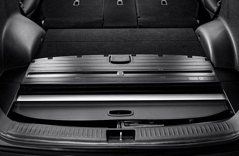 2017 Kia Sorento trunk space