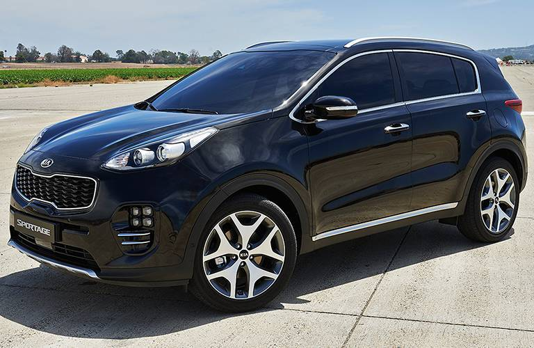 2017 Kia Sportage side view