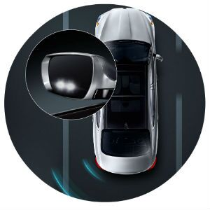 Does the Kia K900 have blind-spot detection?