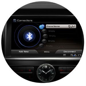 Does the Kia K900 come standard with Bluetooth?
