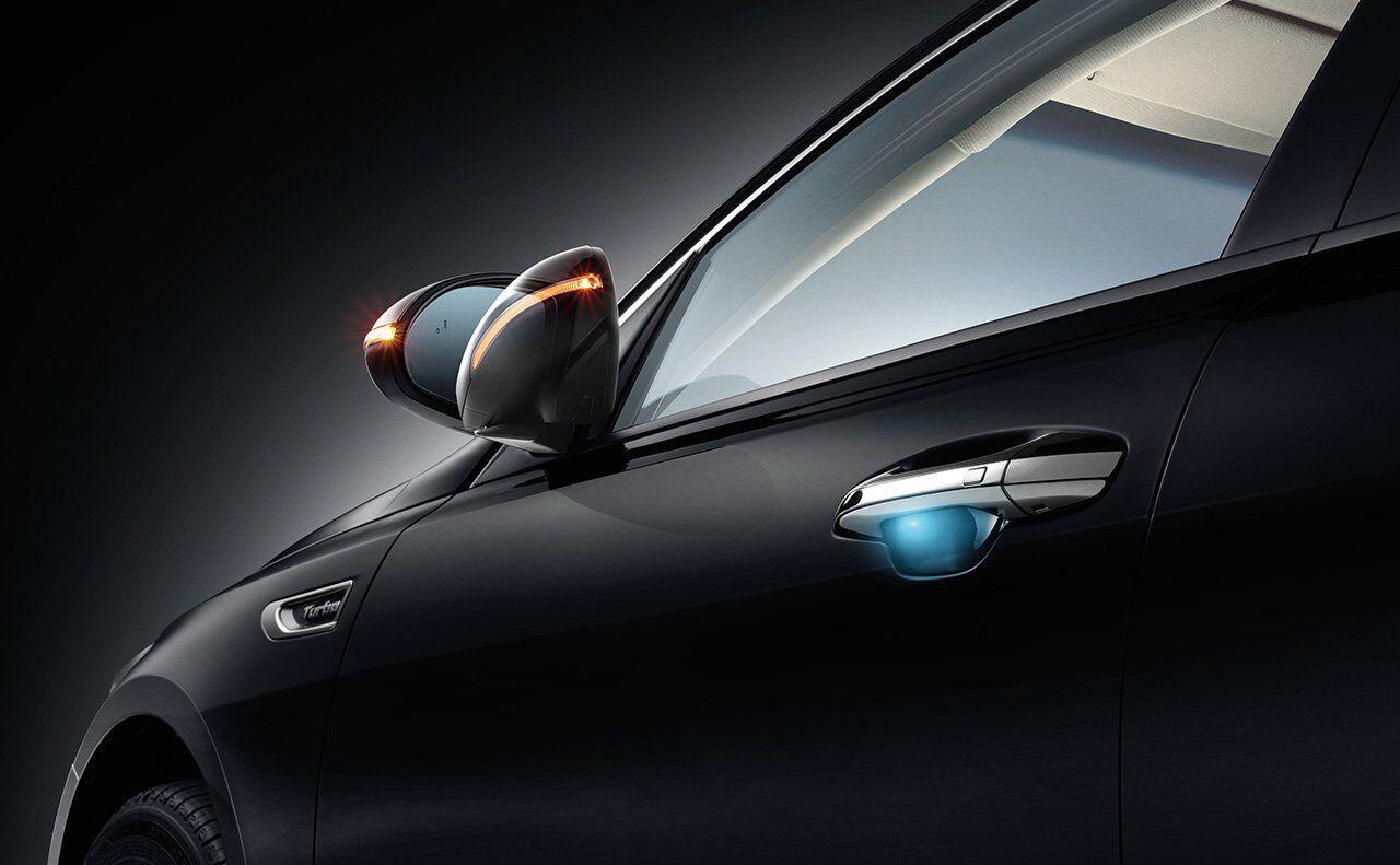 2017 Kia Optima folding exterior mirrors