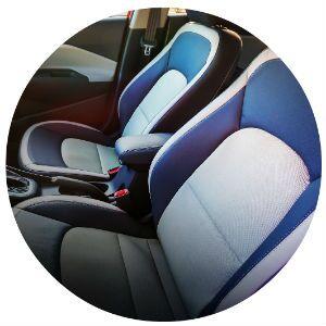 2017 Kia Rio seating material
