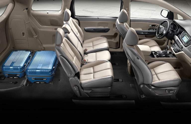 2018 Kia Sedona interior seats