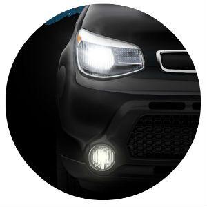 2016 Kia Soul headlight design