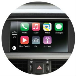 Does the Kia Optima have Apple CarPlay?