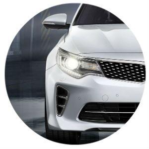 2016 Kia Optima headlights