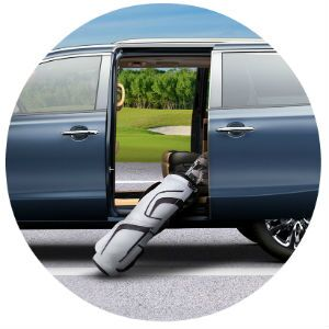 Kia Sedona power-sliding anti-pinch doors