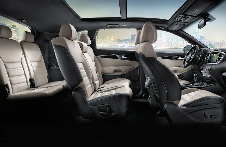 2017 Kia Sorento interior design