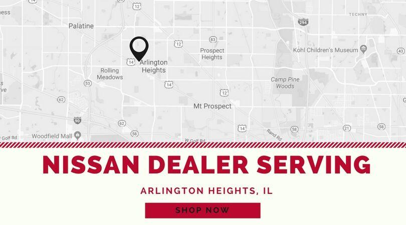 Lovely Woodfield Nissan Serves Arlington Heights, IL