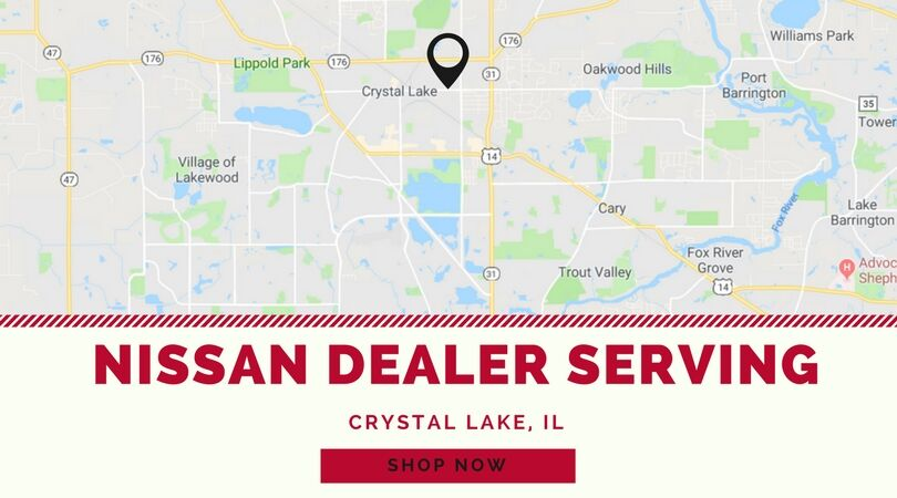 Crystal Lake Illinois Map.Nissan Dealer Serving Crystal Lake Il Woodfield Nissan