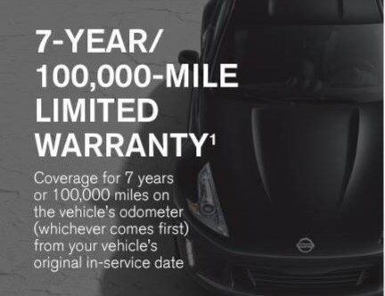 Nissan 7-year warranty