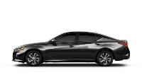 black 2020 Nissan Altima S