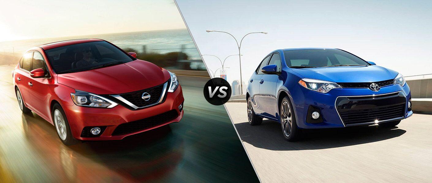 2016 Nissan Sentra vs 2016 Toyota Corolla