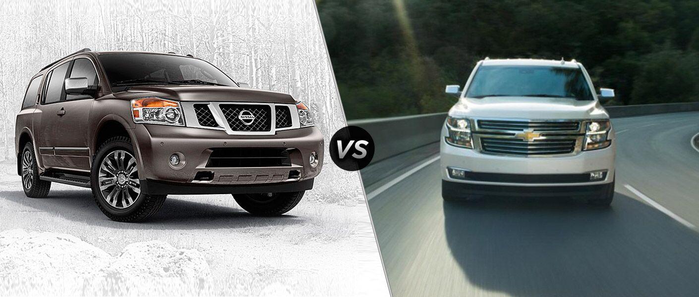 2015 Nissan Armada vs 2015 Chevy Tahoe