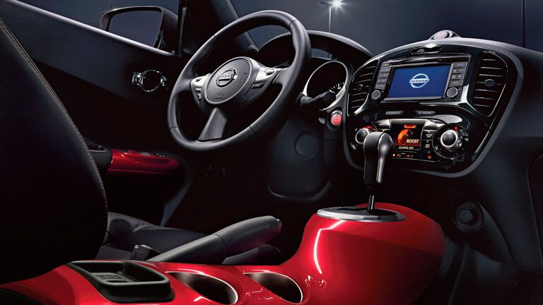 2016 Nissan Juke interior features and technology