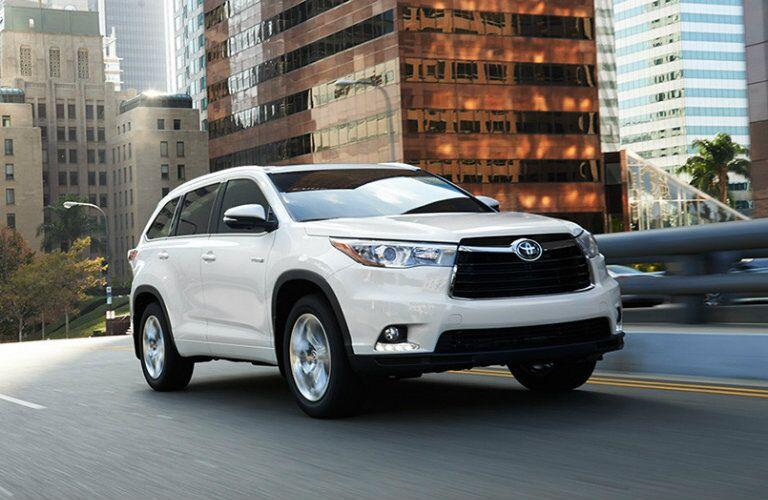 2016 Toyota Highlander exterior styling