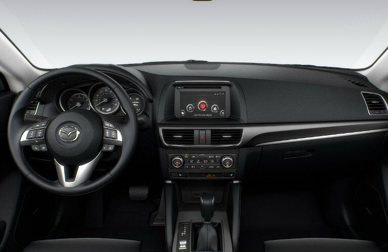 2016 mazda cx-5  interior technology features and seating