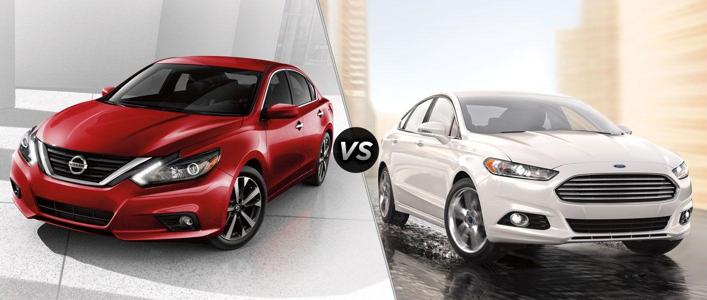 2016 Nissan Altima vs 2016 Ford Fusion
