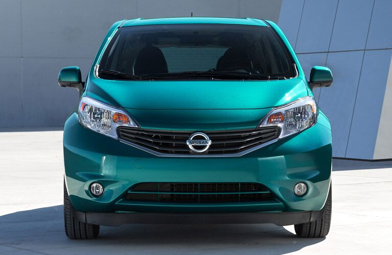 Nissan grille and front fascia of Versa Note