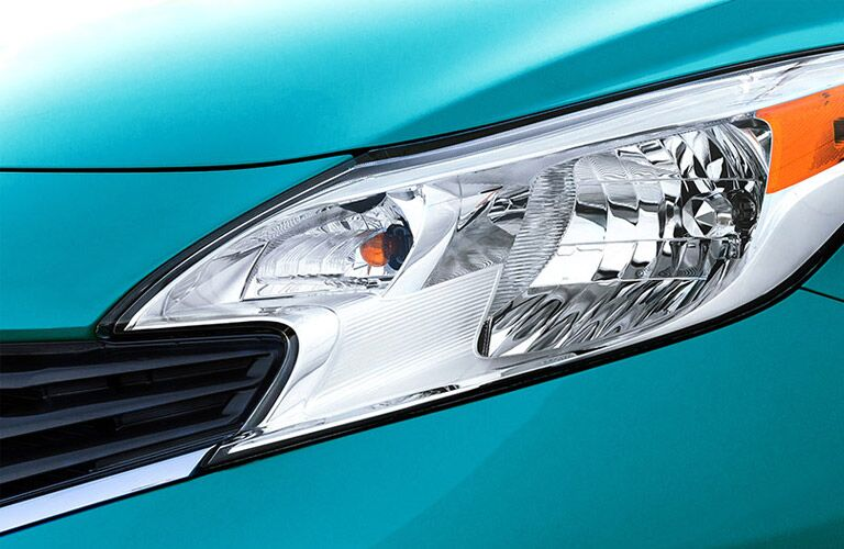 boomerang headlights of nissan versa note