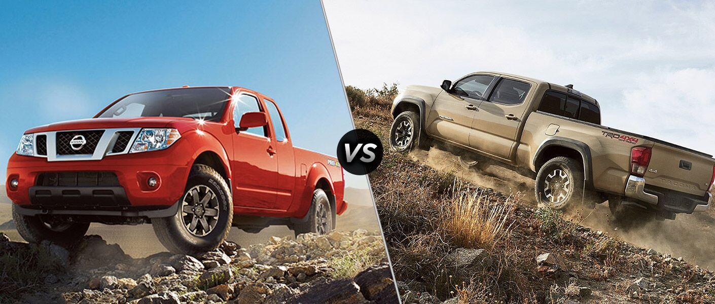 2016 Nissan Frontier vs 2016 Toyota Tacoma