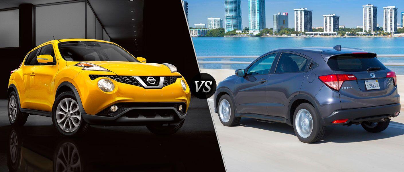 2016 Nissan Juke vs 2016 Honda HR-V