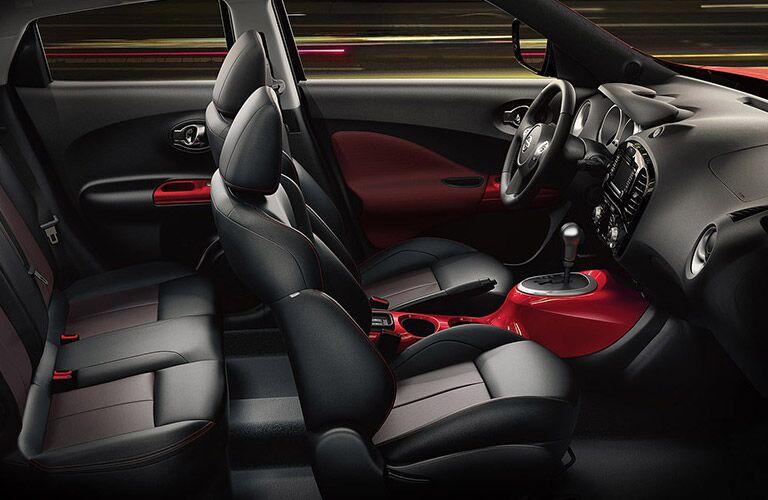 interior design of the 2016 nissan juke