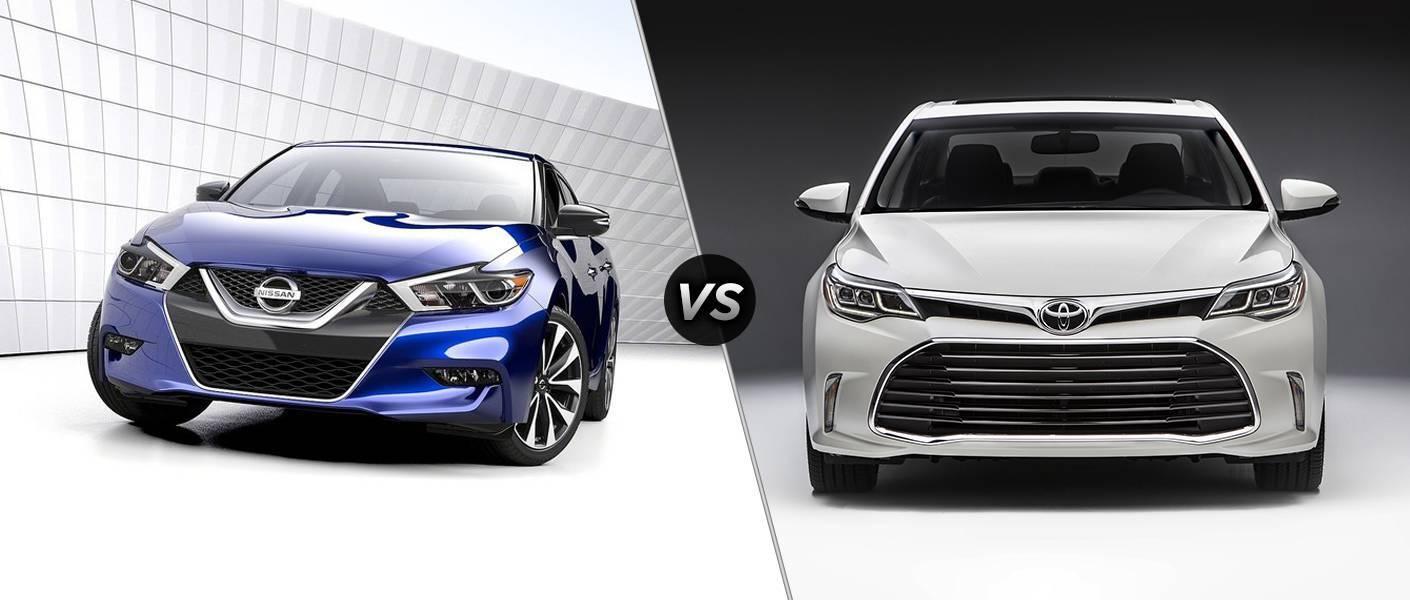 2016 Nissan Maxima vs 2016 Toyota Avalon