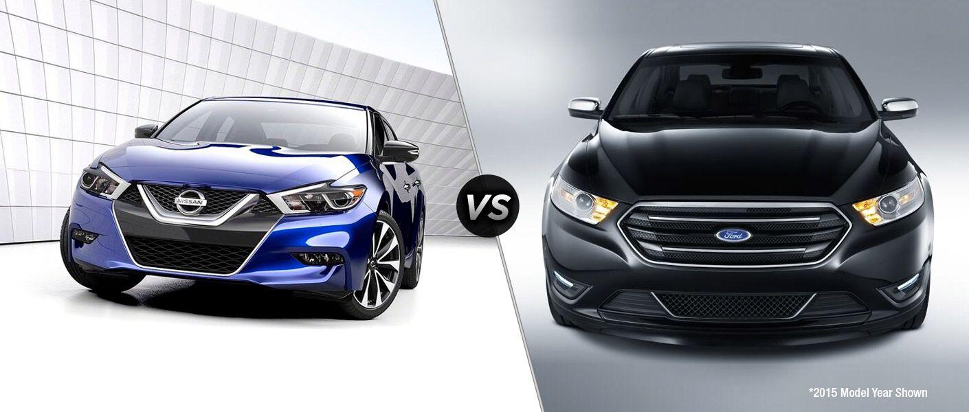 2016 Nissan Maxima vs 2015 Ford Taurus
