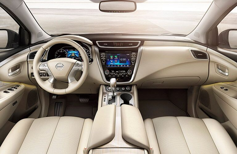 2016 nissan murano interior with nissanconnect