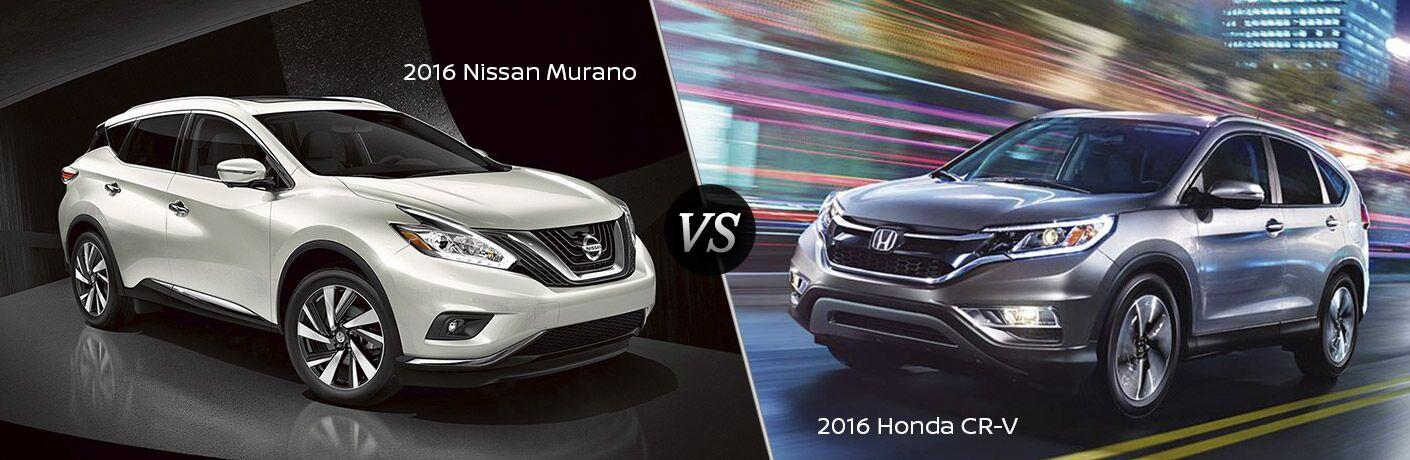 2016 Nissan Murano vs 2016 Honda CR-V