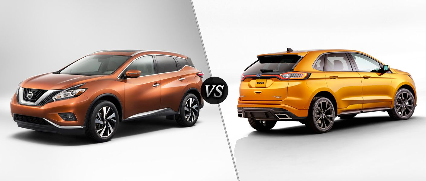 2016 Nissan Murano vs 2016 Ford Edge