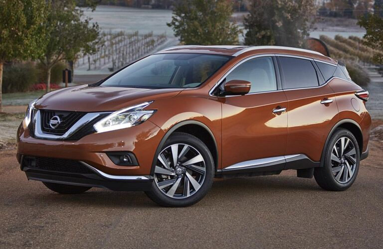 v-motion grille of 2016 nissan murano